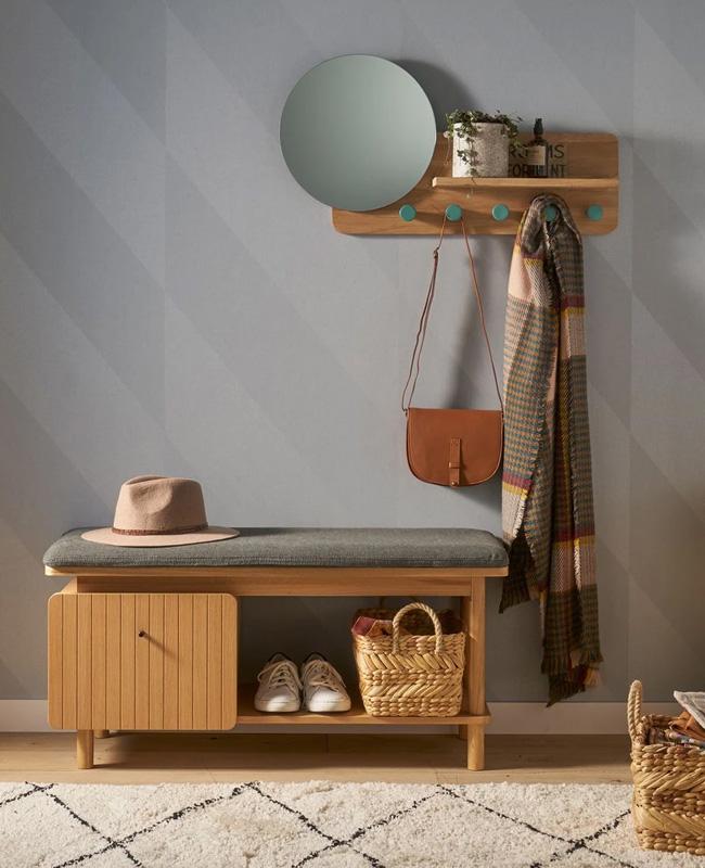 banc tiroir rangement