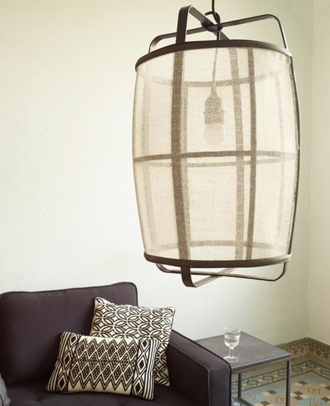 suspension lanterne Koushi bambou