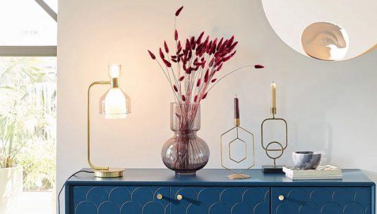 vase verre moderne