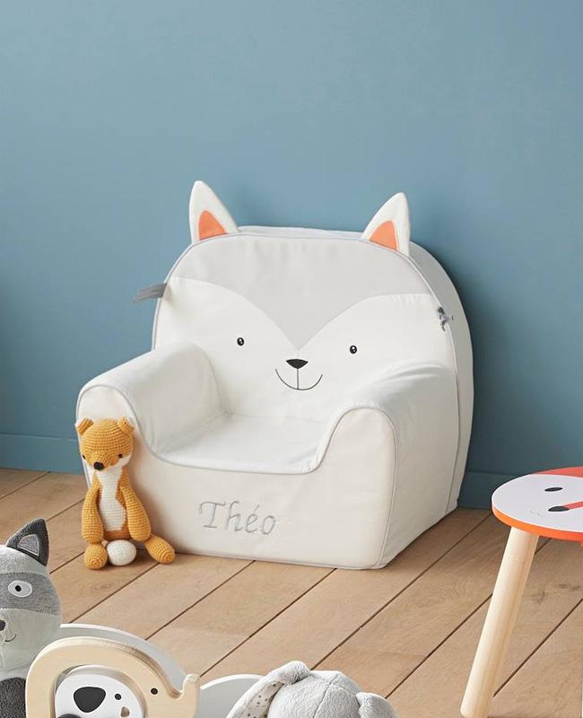 fauteuil enfant chat