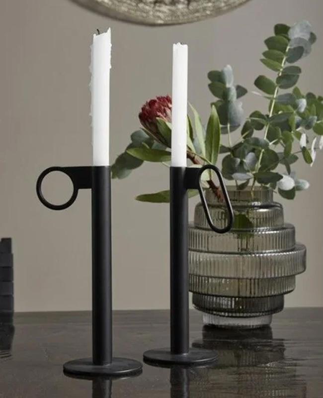 vase verre moderne strie