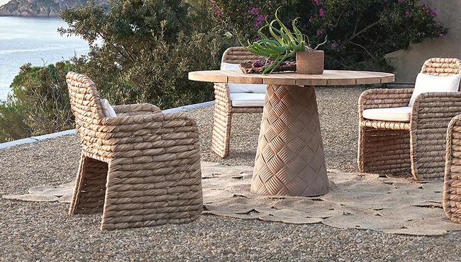 chaise jardin naturelle
