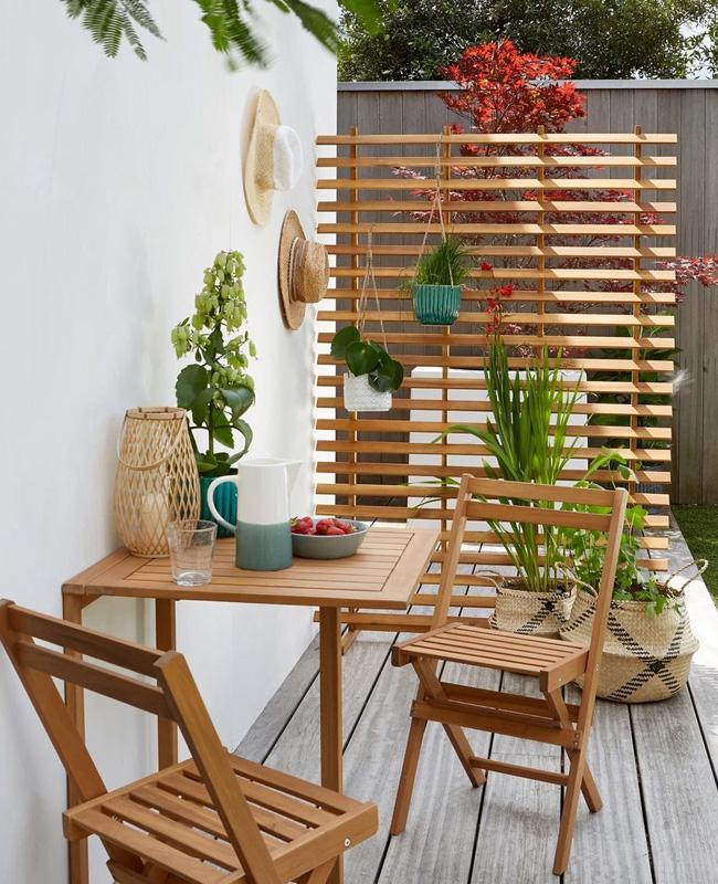 salon jardin petit prix table pliante