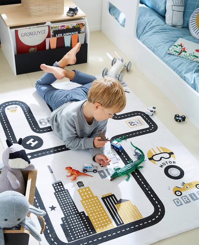 tapis jeu enfant circuit