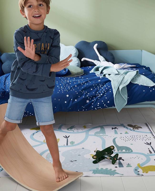 tapis jeu enfant dinosaure