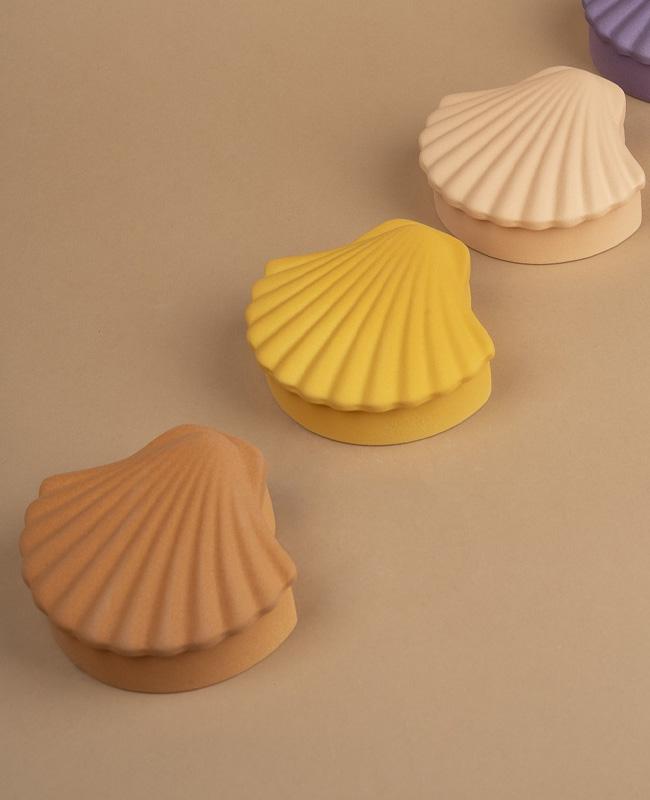 boite coquillage argile