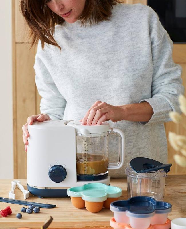 robot cuiseur bebe vapeur