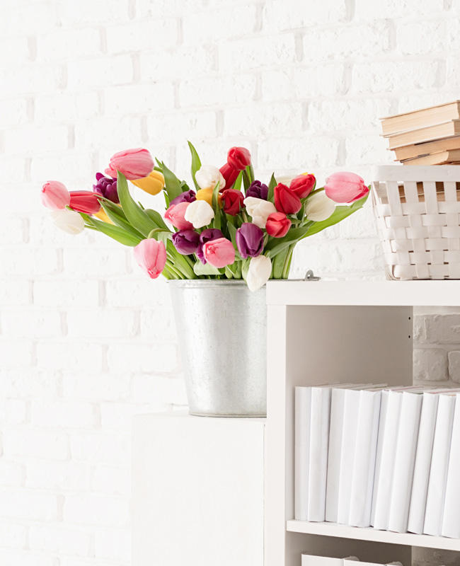 deco fleurs tulipes