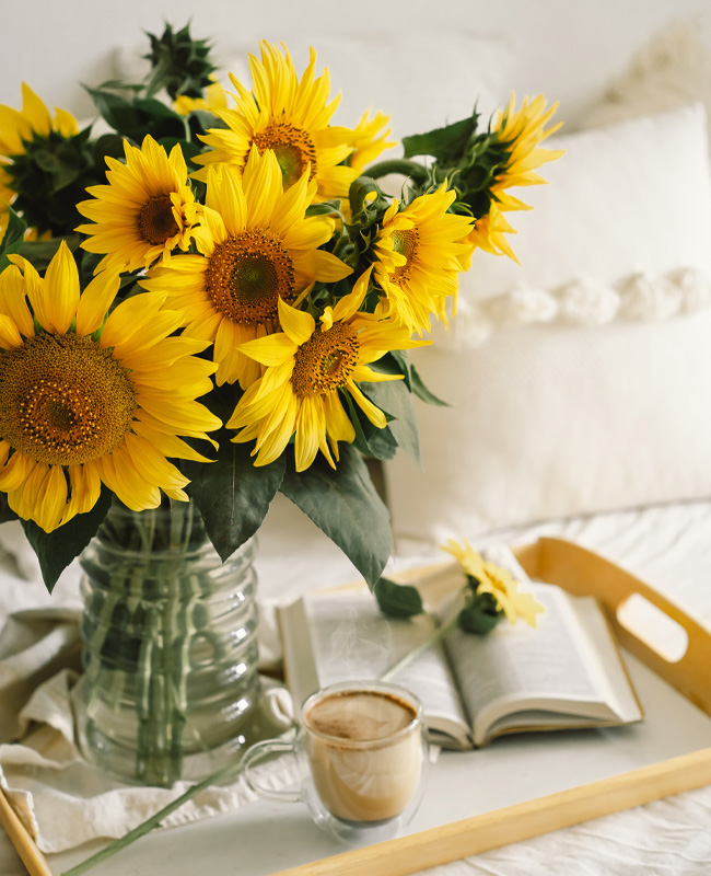 deco fleurs tournesol