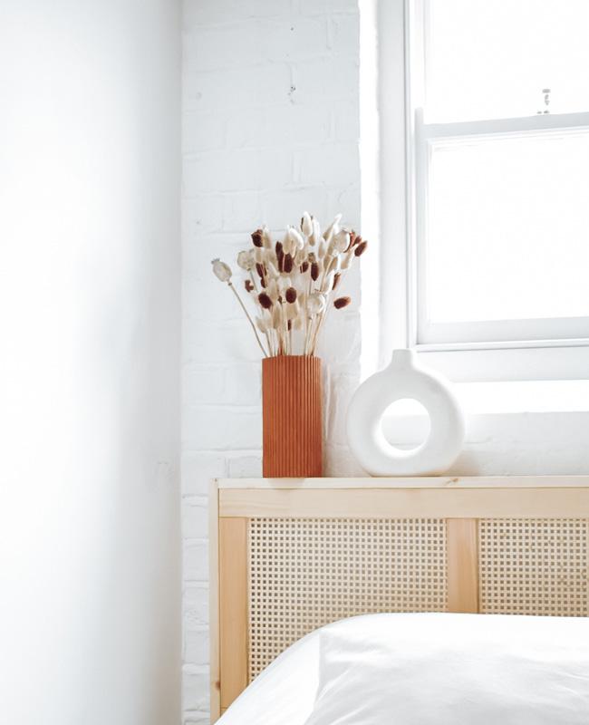 deco fleurs vase carton diy