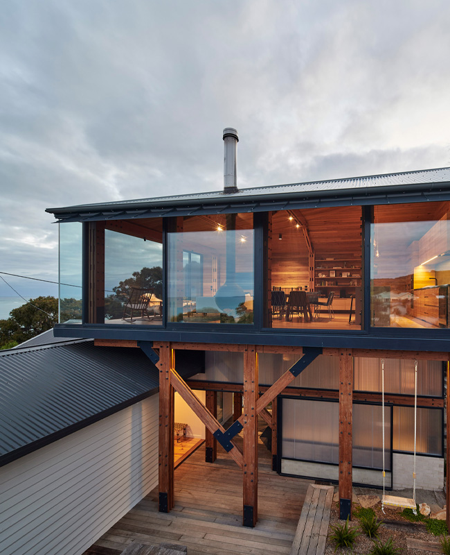 maison plage moderne Australie