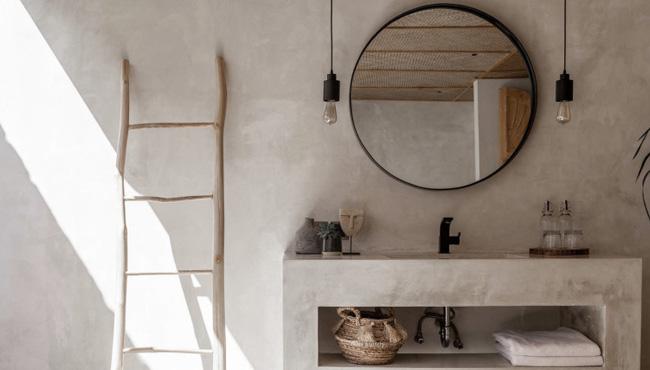 deco salle de bain beton cire