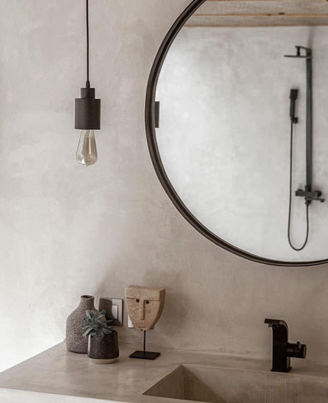 deco salle de bain beton cire beige