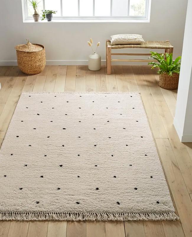 tapis berbere bois