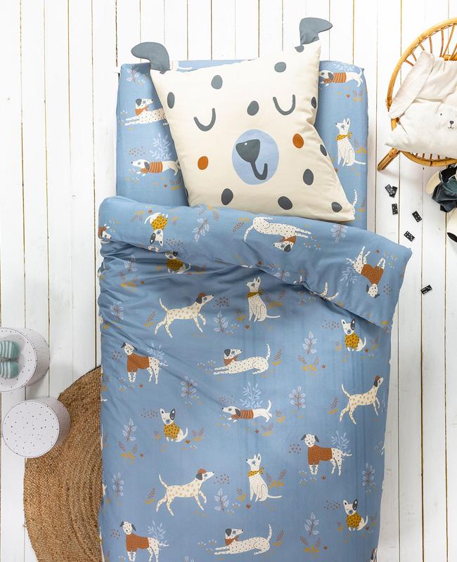 linge de lit chien