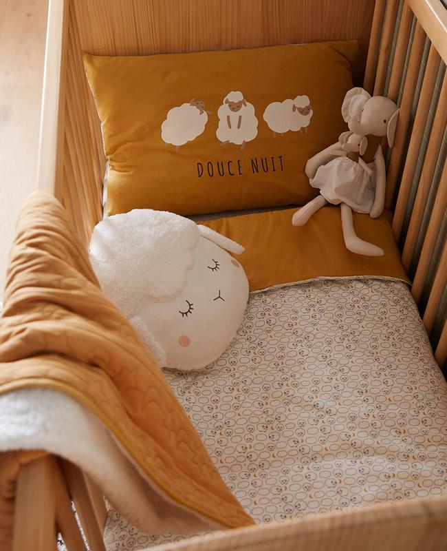 linge de lit mouton bebe